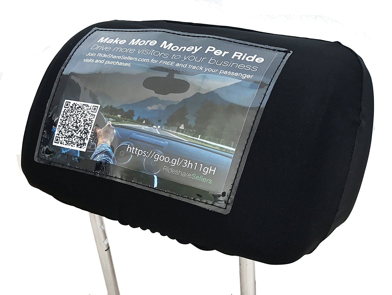 Head Rest Cover with Advertising